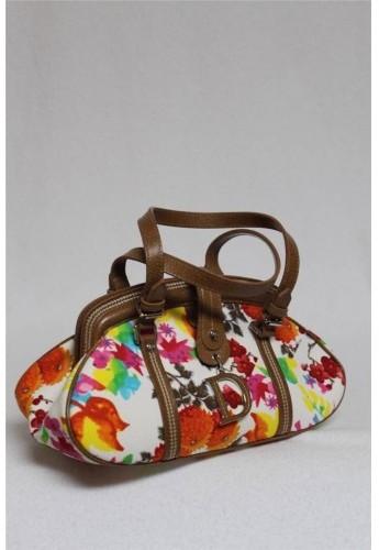 Christian Dior pristine (PR Etain Floral Multicolor Small Doctor Satchel Bag