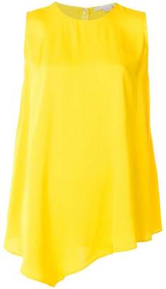 Stella McCartney asymmetric sleeveless blouse