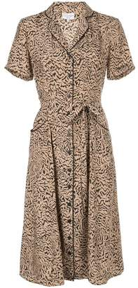 Harley Viera Newton Maria Tiger Print Pajama Dress