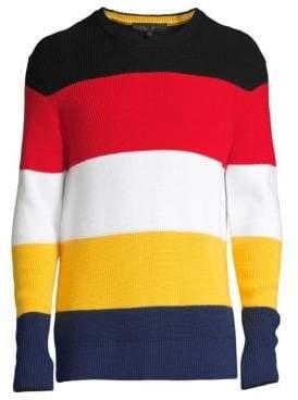 Rag & Bone Kirke Knit Colorblock Sweater