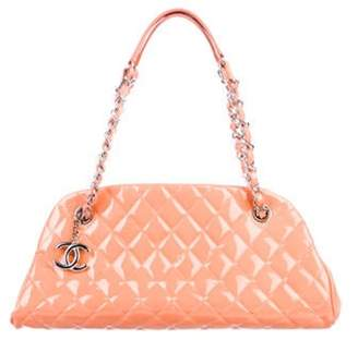 Chanel Small Just Mademoiselle Bowler Bag Orange Small Just Mademoiselle Bowler Bag