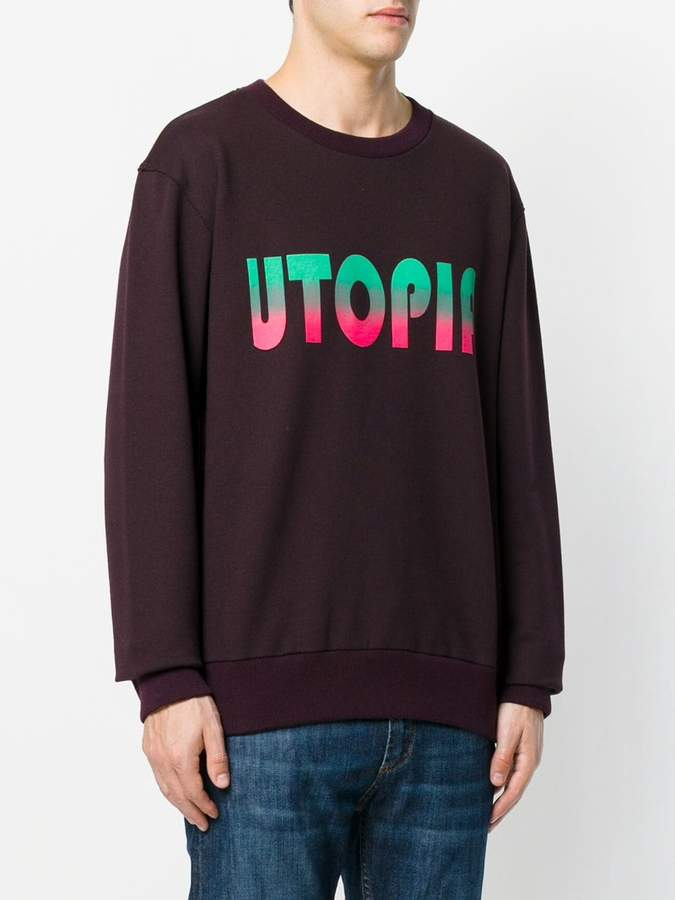 Lanvin Utopia print sweatshirt