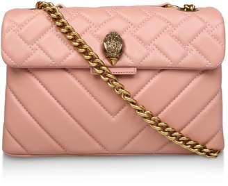 Kurt Geiger London Leather Quilted Kensington X Bag