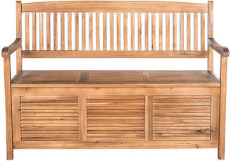 One Kings Lane Cacey Outdoor Bench - Natural