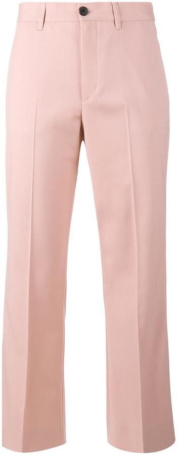 Miu MiuMiu Miu cropped flared trousers