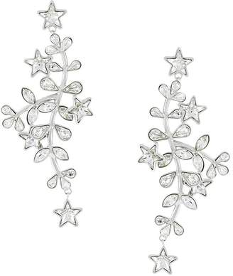 DSQUARED2 crystal vine and star earrings