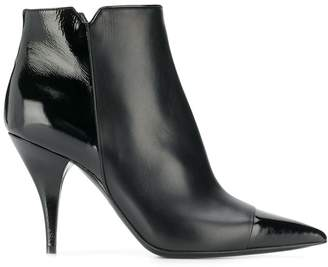 Casadei stiletto ankle boots