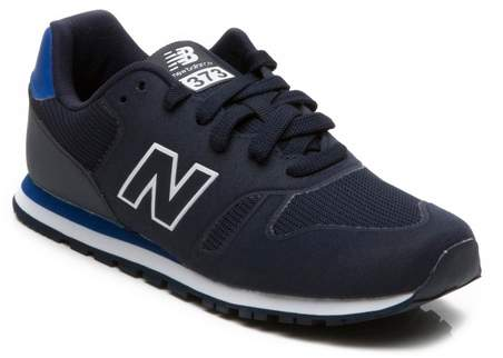 373 Lace Trainer Navy 24