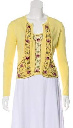 Blumarine Embellished Cardigan Set