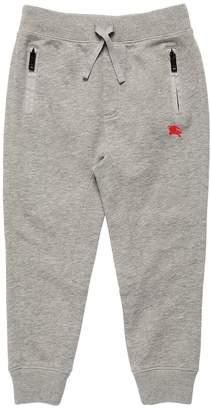 Burberry Logo Detail Cotton Sweatpants