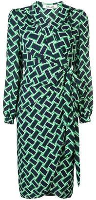 Diane von Furstenberg vintage weave dress