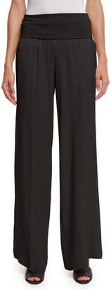 ATM Anthony Thomas Melillo Wide-Leg Yoga Pants