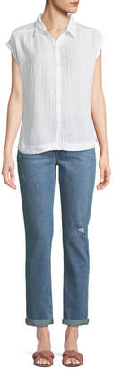 Joe's Jeans Mandy Slim-Leg Boyfriend Ankle Rolled Jeans