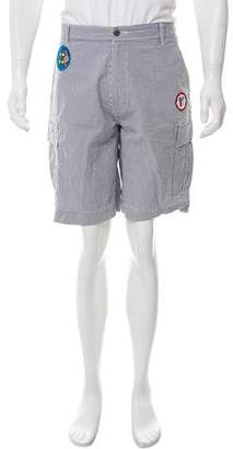Billionaire Boys Club Embroidered Utility Shorts