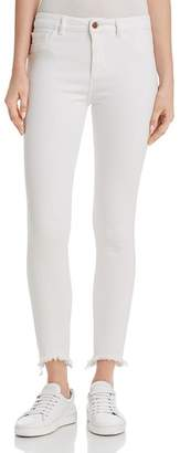 DL1961 Farrow Instaslim High Rise Skinny Ankle Jeans in Cape Cod