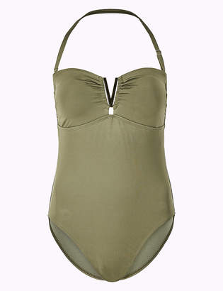 Marks and Spencer Secret Slimming Bandeau Swimsuit