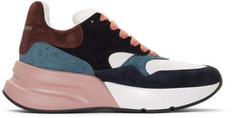 Alexander McQueen Multicolor Oversized Runner Sneakers