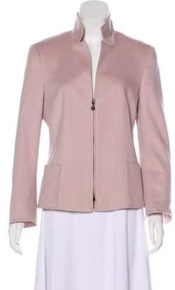 Akris Punto Structured Zip-Up Jacket