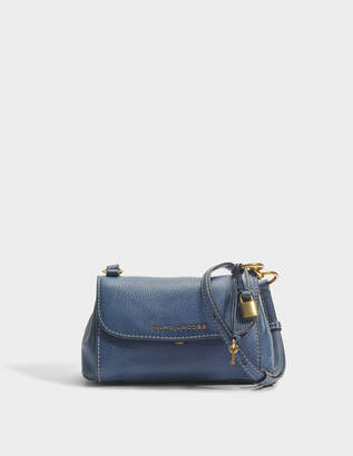 2e9608af2d99c Marc Jacobs The Mini Boho Grind Crossbody Bag in Blue Sea Cow Leather