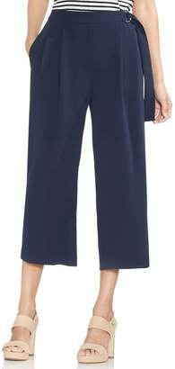 Vince Camuto Belted Wide Leg Crop Pants