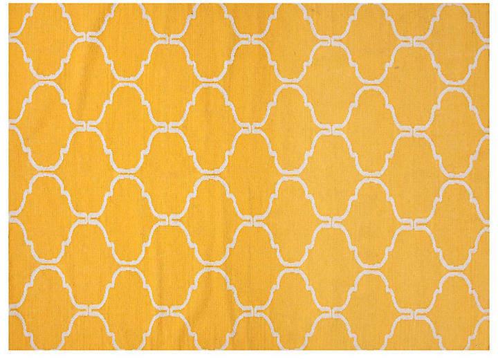 Serra Flat-Weave Rug - Marigold - 5'x8'