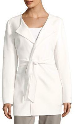 Max MaraSolid Angora Wool-Blend Jacket