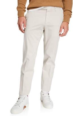 Ermenegildo Zegna Men's Garment-Dyed Tab Pants