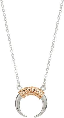 Anna Beck Rose Gold Horn Necklace