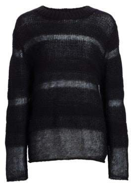 Alexander Wang Loose Knit Sweater& Tee Liner