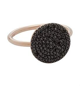Astley Clarke Black Diamond Icon Ring