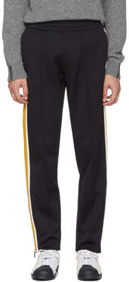Moncler Black Cotton Track Pants