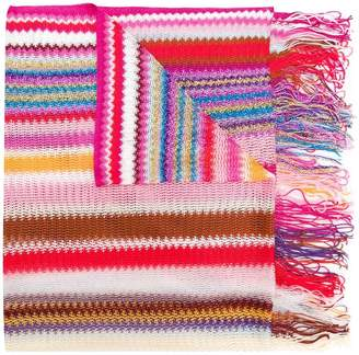 Missoni mini zig zag stripe scarf