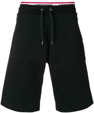 Moschino logo waistband shorts