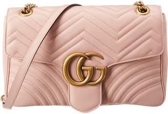Gucci Gg Marmont Medium Matelasse Leather Shoulder Bag