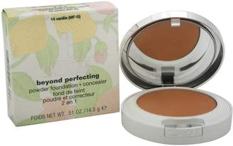 Clinique Beyond Perfecting Powder Foundation+Concealer Vanilla(MF-G)-Dry Comb. To Oily