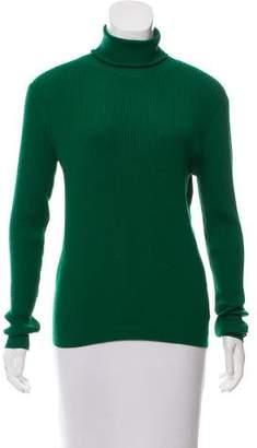 Dries Van Noten Long Sleeve Wool Turtleneck