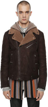 Diesel Black Gold Diesel Leather jackets BGPDU - Brown - 46