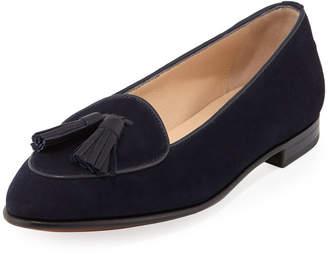 Gravati Suede Tassel Flat Loafers