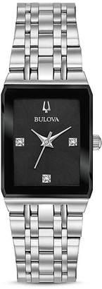 Bulova Futuro Quadra Link Bracelet Watch, 20mm x 32mm