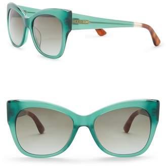 Toms Autry 54mm Cat Eye Sunglasses