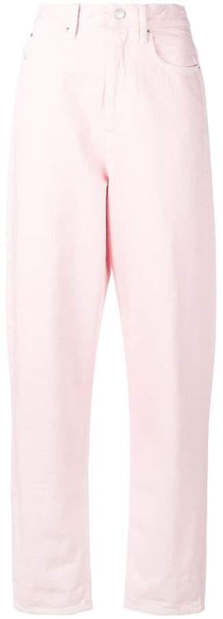 regular mom fit trousers