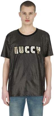 Gucci Guccy & Stars Cotton Jersey T-Shirt
