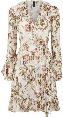 Needle & Thread Garland Petal Wrap Dress