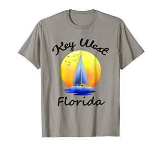 Key West Florida Souvenir Sailing T-Shirt