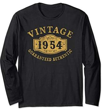 1954 Authentic 64 years old 64th B-day Birthday Gift Shirt