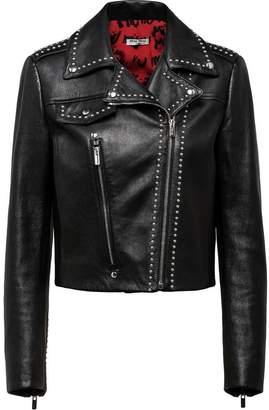 Miu Miu studded biker jacket