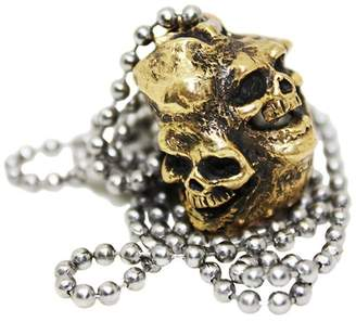 Jac Zagoory Designs Bronze Skull Necklace