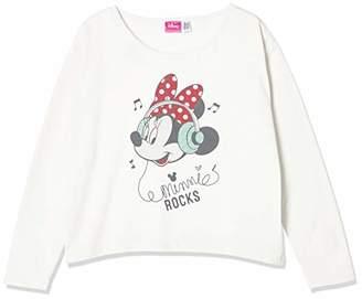 Disney (ディズニー) - [ディズニー] ミニープリントナガソデTシャツ 332221063 ホワイト 日本 140 (日本サイズ140 相当)