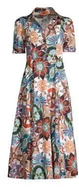 Missoni Short Sleeve Cotton Dress