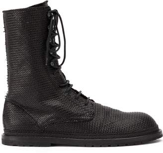 a7c47f9f59ee Ann Demeulemeester lace-up boots